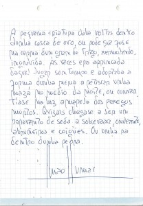 manuscrito Anxos Sumai